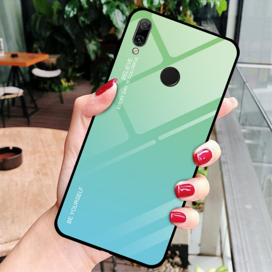 GLASS BE YOURSELF TWILIGHT MINT OVITEK ZA HUAWEI Y7 PRIME (2019) / Y7 (2019)