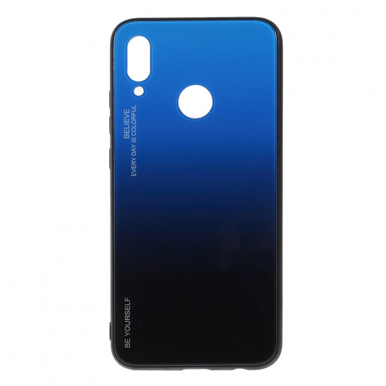 GLASS BE YOURSELF TWILIGHT BLACK/BLUE OVITEK ZA HUAWEI P SMART (2019)/ HONOR 10 LITE
