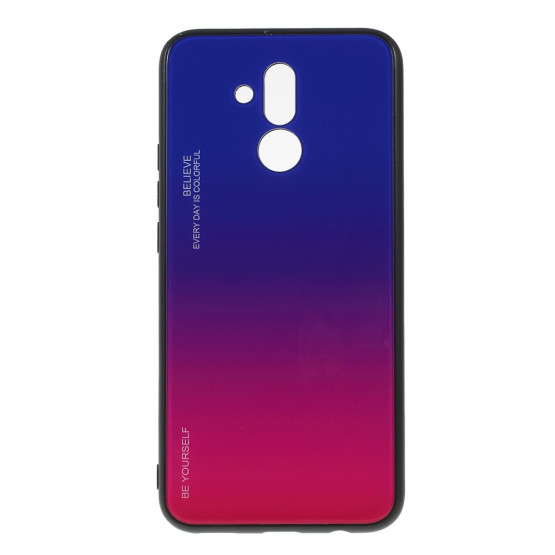 GLASS BE YOURSELF TWILIGHT BLUE/PURPLE OVITEK ZA HUAWEI MATE 20 LITE