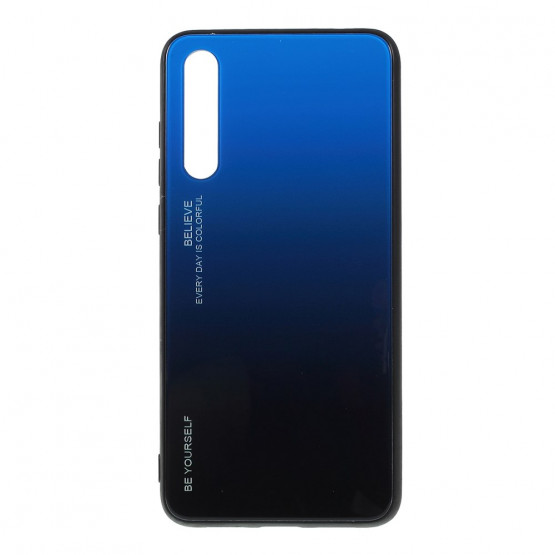 GLASS BE YOURSELF TWILIGHT BLACK/BLUE OVITEK ZA HUAWEI P20 PRO