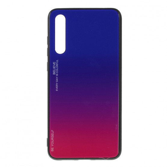 GLASS BE YOURSELF TWILIGHT BLUE/PURPLE OVITEK ZA HUAWEI P20 PRO