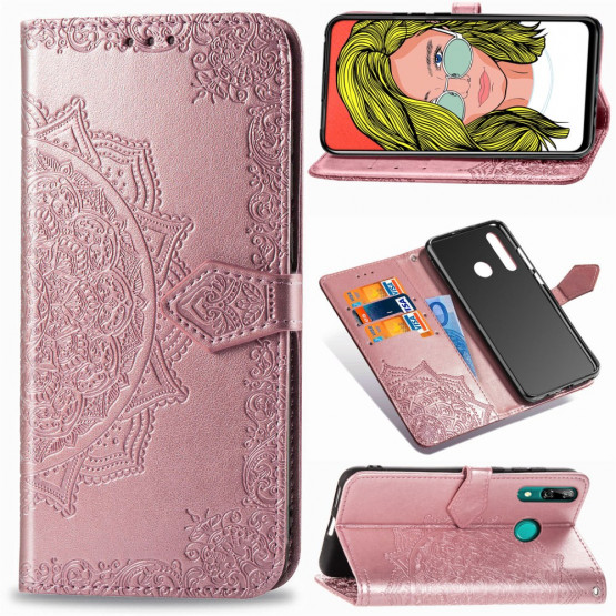 ROYAL MANDALA ROSE GOLD ETUI ZA HUAWEI P SMART Z