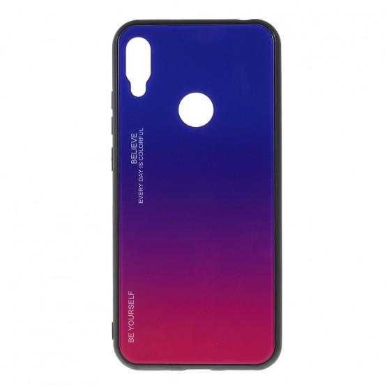 GLASS BE YOURSELF TWILIGHT BLUE/PURPLE OVITEK ZA HUAWEI Y6 (2019) / Y6 PRO (2019) / Y6 PRIME (2019)