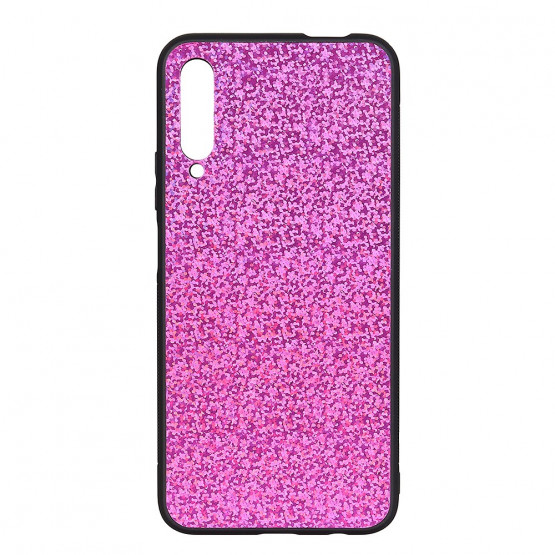 SLIM GLITTER LEATHER ROZA OVITEK ZA HUAWEI P SMART PRO (2019)