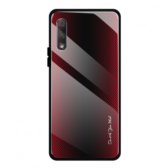 GLASS DO AS YOU WISH RDEČ OVITEK ZA HUAWEI P SMART PRO (2019)