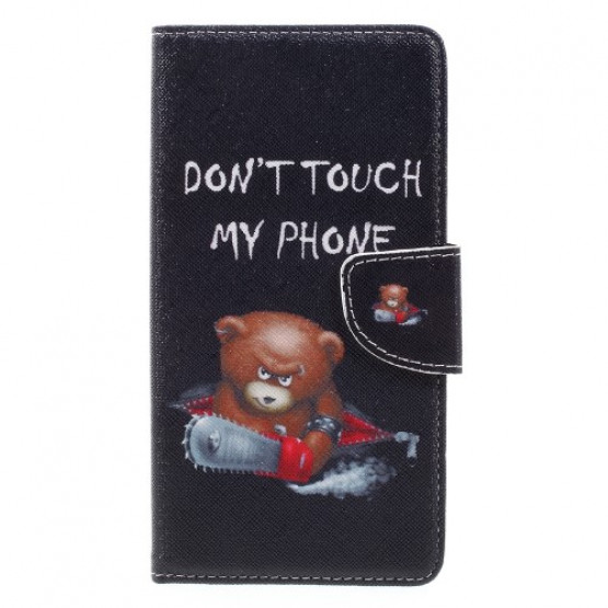 DON`T TOUCH MY PHONE BEAR - HUAWEI NOVA PLUS
