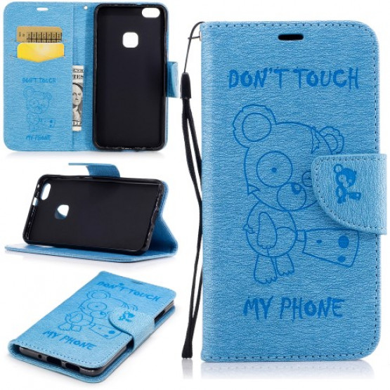 BEARS DON'T TOUCH MY PHONE MODER - HUAWEI P10 LITE