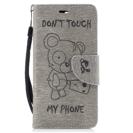 BEARS DON`T TOUCH MY PHONE SIV - HUAWEI Y6 (2017)