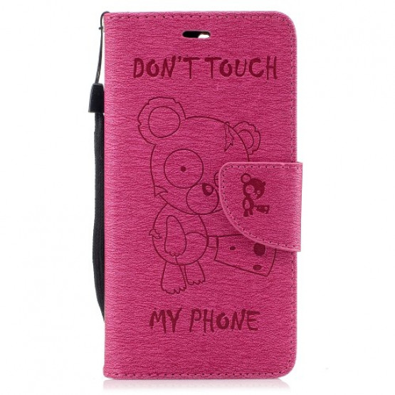 BEARS DON`T TOUCH MY PHONE ROZA - HUAWEI Y6 (2017)