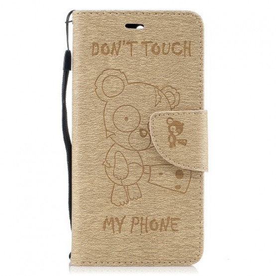 BEARS DON`T TOUCH MY PHONE ZLAT - HUAWEI Y6 (2017)