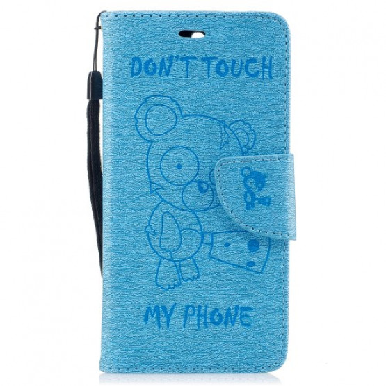 BEARS DON`T TOUCH MY PHONE MODER - HUAWEI Y6 (2017)