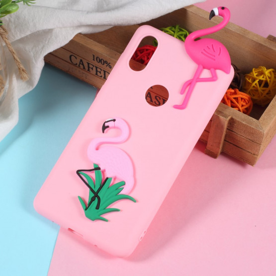 3D CARTOON FLAMINGO - XIAOMI MI MIX 2S