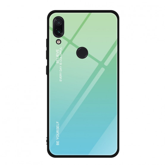 GLASS BE YOURSELF TWILIGHT MINT OVITEK ZA XIAOMI REDMI NOTE 7