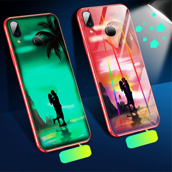 GLASS GLOW IN BEACH OVITEK ZA XIAOMI REDMI NOTE 7