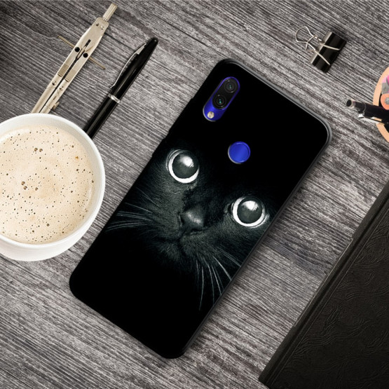 SLIM BLACK MAČEK - XIAOMI REDMI NOTE 7