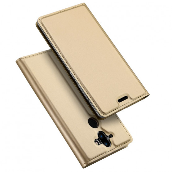 DUX SLIM & MAGNETIC GOLD - NOKIA 8 SIROCCO