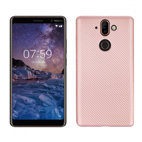 GEOMETRIC SOFT ROSE GOLD - NOKIA 8 SIROCCO