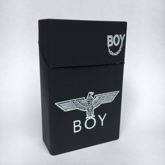 BOY LONDON ČRN - ETUI ZA CIGARETNE ŠKATLICE
