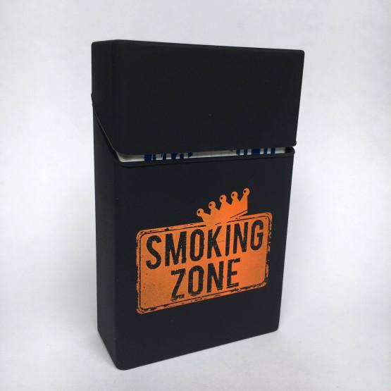 SMOKING ZONE ČRN - ETUI ZA CIGARETNE ŠKATLICE