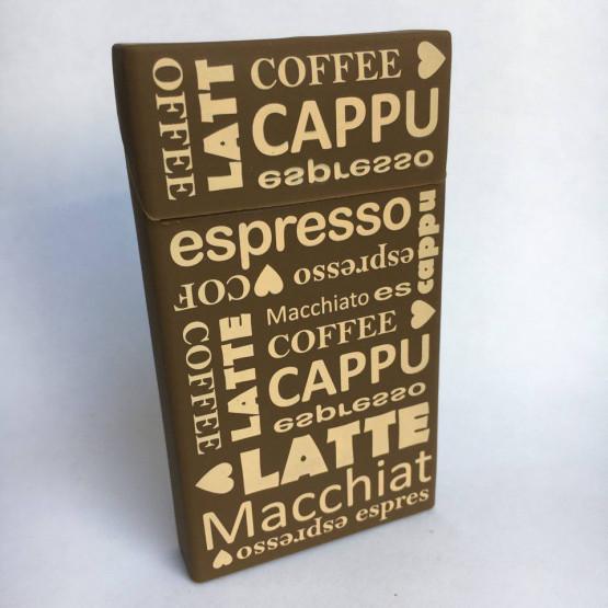 SLIM COFFEE LOVE - ETUI ZA CIGARETNE ŠKATLICE