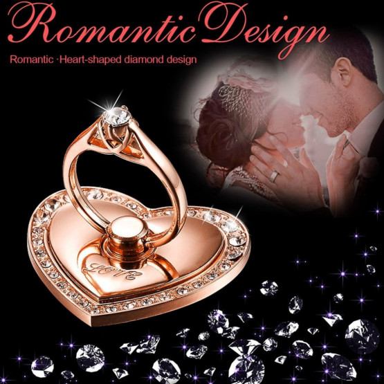 DIAMANTNI RING SRCE ROSE GOLD