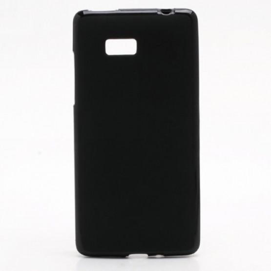 SIMPL TPU GEL ETUI ČRN - HTC DESIRE 600