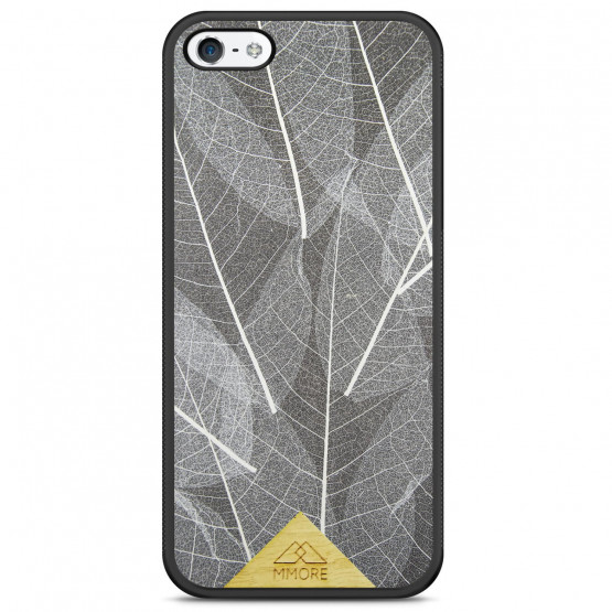 SKELETON LEAVES - ORGANSKI OVITEK ZA APPLE IPHONE 5 / 5S / SE