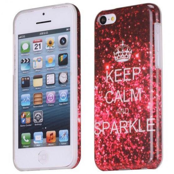 KEEP CALM AND SPARKLE - IPHONE 5C