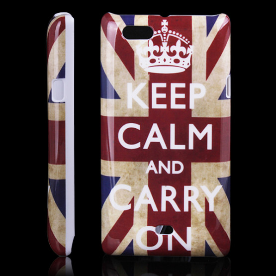 KEEP CALM AND CARRY ON - SONY XPERIA MIRO