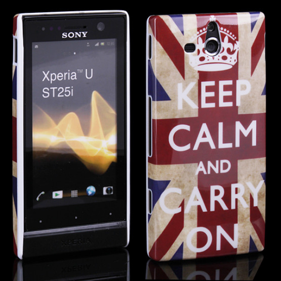 KEEP CALM AND CARRY ON - SONY XPERIA U