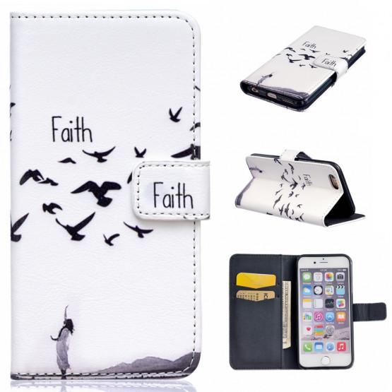 FAITH (ČRNO/BEL) - APPLE IPHONE 6 PLUS / 6S PLUS