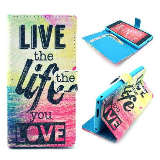 LIVE THE LIFE YOU LOVE - SONY XPERIA M2
