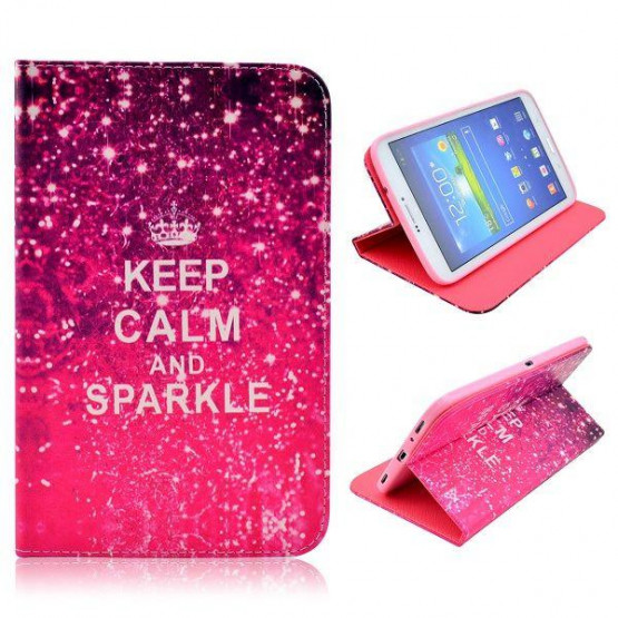 KEEP CALM AND SPARKLE - SAMSUNG GALAXY TAB 3 8.0