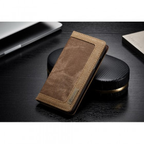 CASEME CANVAS BROWN - APPLE IPHONE X