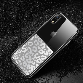 USAMS MAT VZOREC LEOPARDA - APPLE IPHONE XR