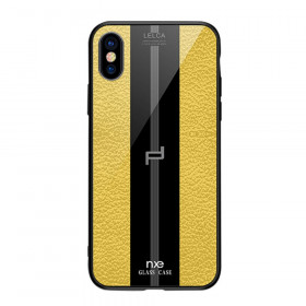 NXE GLASS LEATHER RUMEN - APPLE IPHONE X / XS