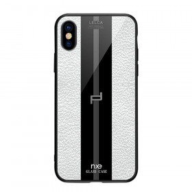 NXE GLASS LEATHER BEL - APPLE IPHONE X / XS