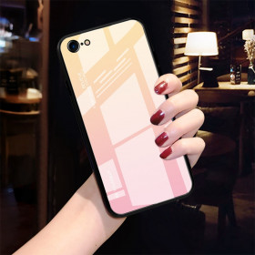 GLASS BE YOURSELF GOLD/PINK OVITEK ZA APPLE IPHONE 7 / IPHONE 8