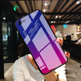 GLASS BE YOURSELF BLUE/PURPLE OVITEK ZA APPLE IPHONE 7 / IPHONE 8