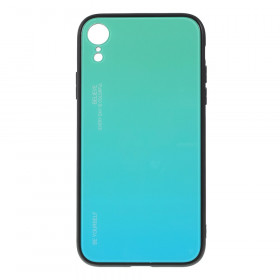 GLASS BE YOURSELF TWILIGHT MINT OVITEK ZA IPHONE XR