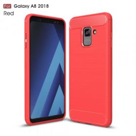 FLEX KARBON RDEČ - SAMSUNG GALAXY A8 (2018)