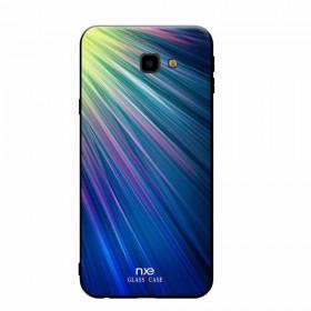 NXE GLASS MODRO-ZELEN SIJ - SAMSUNG GALAXY J4 PLUS (2018)