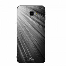NXE GLASS ČRNO-BEL SIJ - SAMSUNG GALAXY J4 PLUS (2018)