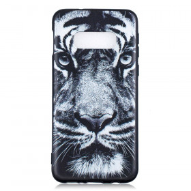 SLIM BLACK ANGRY TIGER - SAMSUNG GALAXY S10E