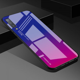 GLASS BE YOURSELF TWILIGHT BLUE/PURPLE OVITEK ZA SAMSUNG GALAXY A7 (2018)