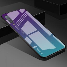 GLASS BE YOURSELF TWILIGHT PURPLE/MINT OVITEK ZA SAMSUNG GALAXY A7 (2018)