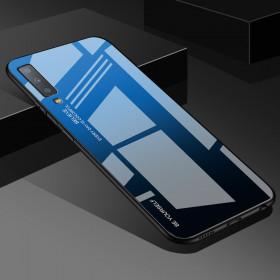 GLASS BE YOURSELF TWILIGHT BLACK/BLUE OVITEK ZA SAMSUNG GALAXY A7 (2018)