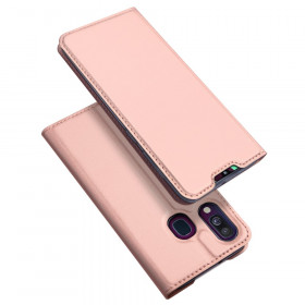 DUX SLIM & MAGNETIC ROSE GOLD ETUI ZA SAMSUNG GALAXY A40