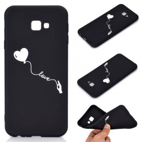 SLIM BLACK MAT LOVE OVITEK ZA SAMSUNG GALAXY J4 PLUS (2018)