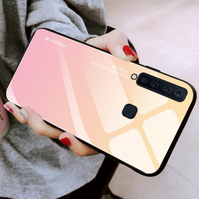 GLASS BE YOURSELF TWILIGHT GOLD OVITEK ZA SAMSUNG GALAXY A9 (2018)